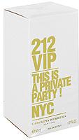 Carolina Herrera 212 VIP. Парфюмированная вода, 50 мл8411061711804Аромат 212 VIP нашел свое вдохновение у молодых и творческих людей Нью-Йорка, которые пишут будущую историю мегаполиса, истинных VIP персон.Яркие эпатажные люди, которые любят и умеют хорошо проводить время. Основная идея аромата «А вы есть в списке?» – фраза, пришедшая из мира VIP, но не имеющая ничего общего с деньгами или известностью. Быть в списке - значит обладать особой жизненной позицией и неординарными личностными характеристиками. 212 VIP веселый, праздничный, цветочный аромат, который сочетает в себе стиль и отношение к жизни, покоряя тремя своими основными гранями. Ноты пьянящего рома и экзотической маракуй воплощают с собой аккорд вечеринки. Взрывной коктейль, которым можно наслаждаться в любое время! Светский аккорд - отличительная черта нового поколения 212 VIP. Он передается нотами всепоглощающего мускуса и изысканной гардении. Аура исключительности. Наконец, стильный аккорд заключен в ингредиентах, придающих аромату обворожительный шарм: восхитительная ультра-женственная ваниль и чувственные бобы Тонка, создают неповторимое изысканное очарование.Верхняя нота: Горький апельсин, маракуйя. Средняя нота: Гардения, ром. Шлейф: Бензоин, ваниль. Ром и Маракуйя - вот правильный рецепт крутой вечеринки.Краткий гид по парфюмерии: виды, ноты, ароматы, советы по выбору. Статья OZON Гид