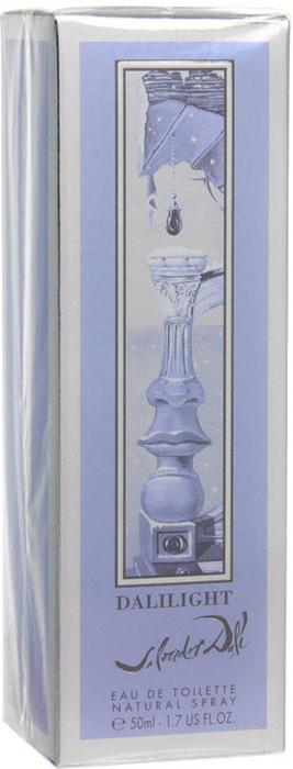 Salvador Dali Туалетная вода Dalilight, 50 мл85502Дизайн флакона и упаковки DALILIGHT вдохновлены знаменитым рисунком Дали Рождество, украсившего обложку журнала VOGUE в декабре 1946 г. Классические коринфские колонны в испанском пейзаже составляют черты прекрасного лица – подбородок, губы, нос, ставшие деталями элегантного флакона, подобного настоящему произведению искусства. Свежий и одновременно насыщенный аромат станет идеальным дополнением образа яркой, активной женщины, чувственным, энергичным и свежим акцентом её стиля. Восхитительный аромат унесет женщину в чарующий мир мечтаний и удовольствия. Верхняя нота: Лимон Китайский апельсин Яблоко. Средняя нота: Белый персик Водная лилия Жасмин. Шлейф: Кедр Белый мускус Амбра. Прикосновение свежести с фруктовыми и цветочными акцентами. При выборе обратите внимание на вид аромата и ноты, доверьтесь вашим эмоциям.Краткий гид по парфюмерии: виды, ноты, ароматы, советы по выбору. Статья OZON Гид