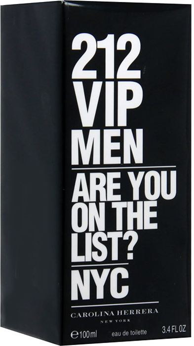 Carolina Herrera 212 VIP Men. Туалетная вода, 100 мл помада maybelline new york maybelline new york ma010lwjkz80