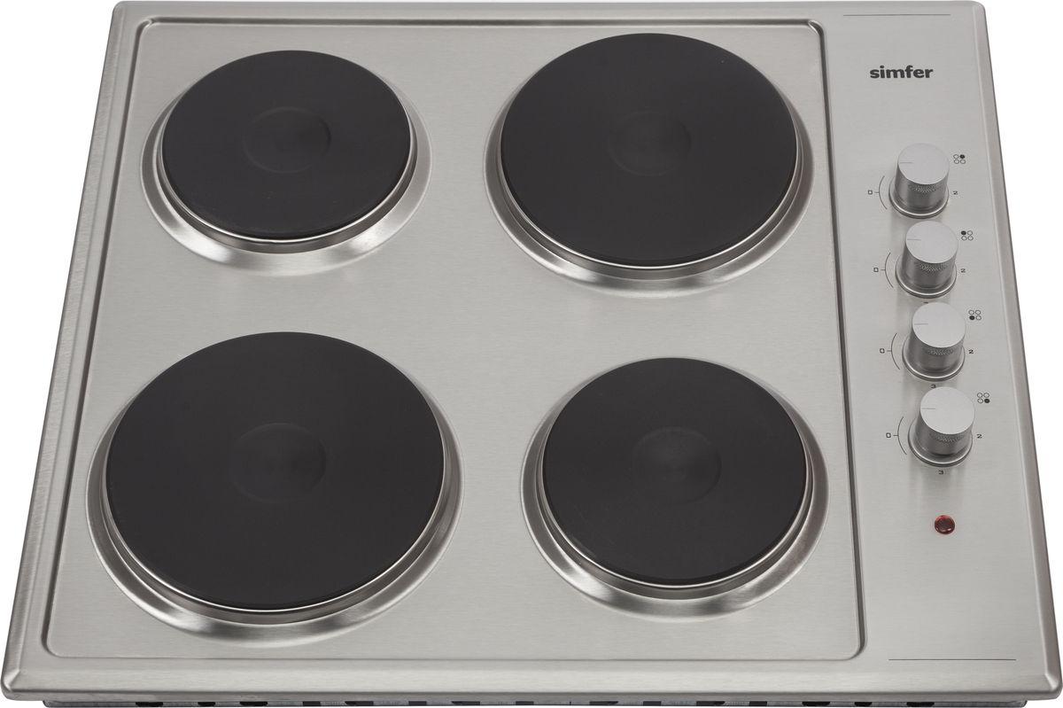 Simfer H60E04M011 панель варочная электрическая simfer h60i18b001 панель варочная индукционная