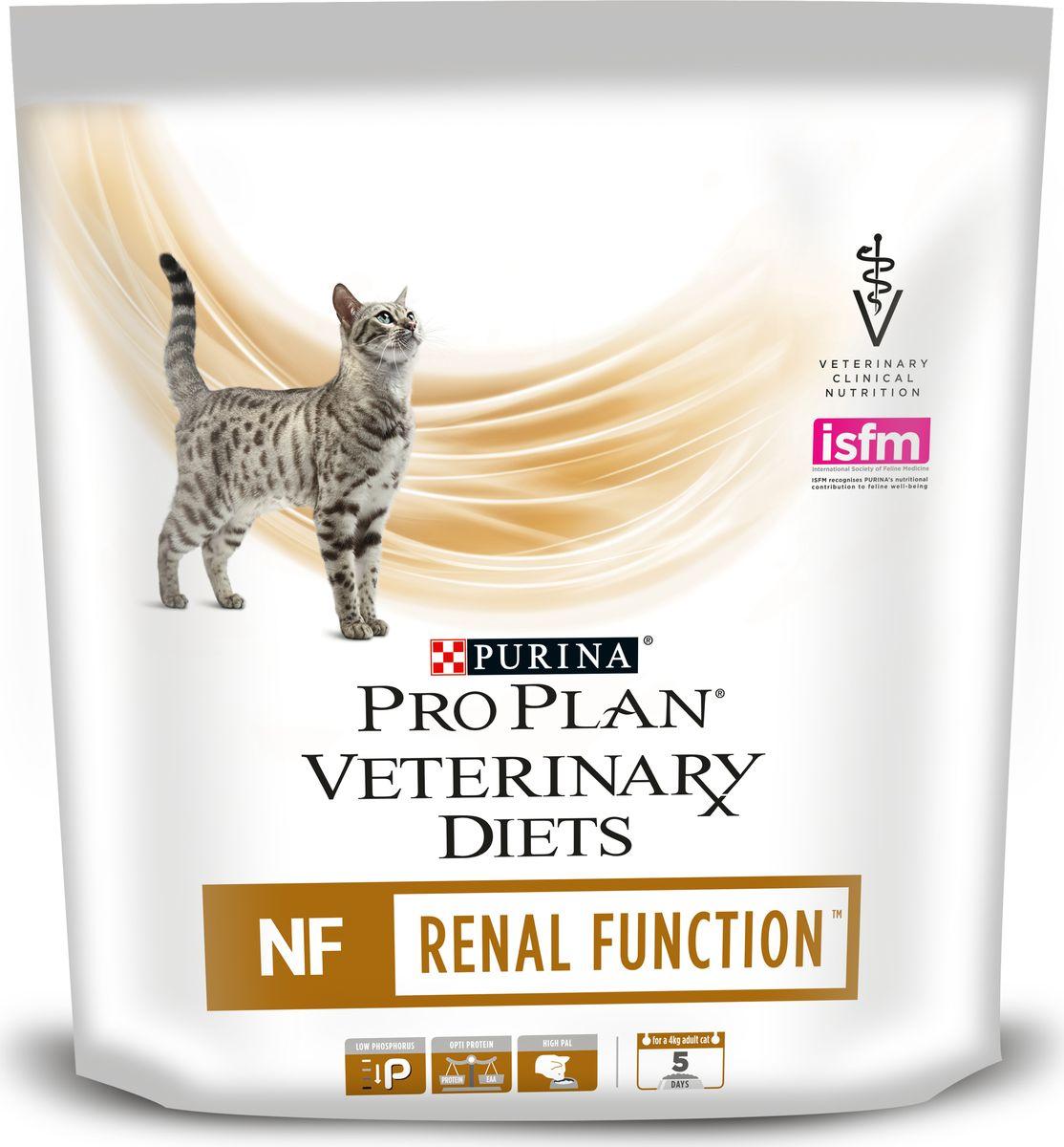 Корм сухой диетический Pro Plan NF, для взрослых кошек, при патологии почек, 350 г12148884Диетический корм Pro Plan NF - это идеальный ежедневный рацион для взрослых кошек, имеющих проблемы с работой почек. Ограниченное количество высококачественного белка сводит к минимуму образование уремических токсинов. Низкое содержание натрия и фосфора способствует защите от нарушения функции почек. Специальный комплекс витаминов и минералов уменьшают воспалительные процессы в организме и поддерживают кислотность мочи. Показания к применению:- почечная недостаточность; - заболевания печени, связанные с энцефалопатией; - ранние стадии застойной сердечной недостаточности; - гипертензия. Товар сертифицирован.