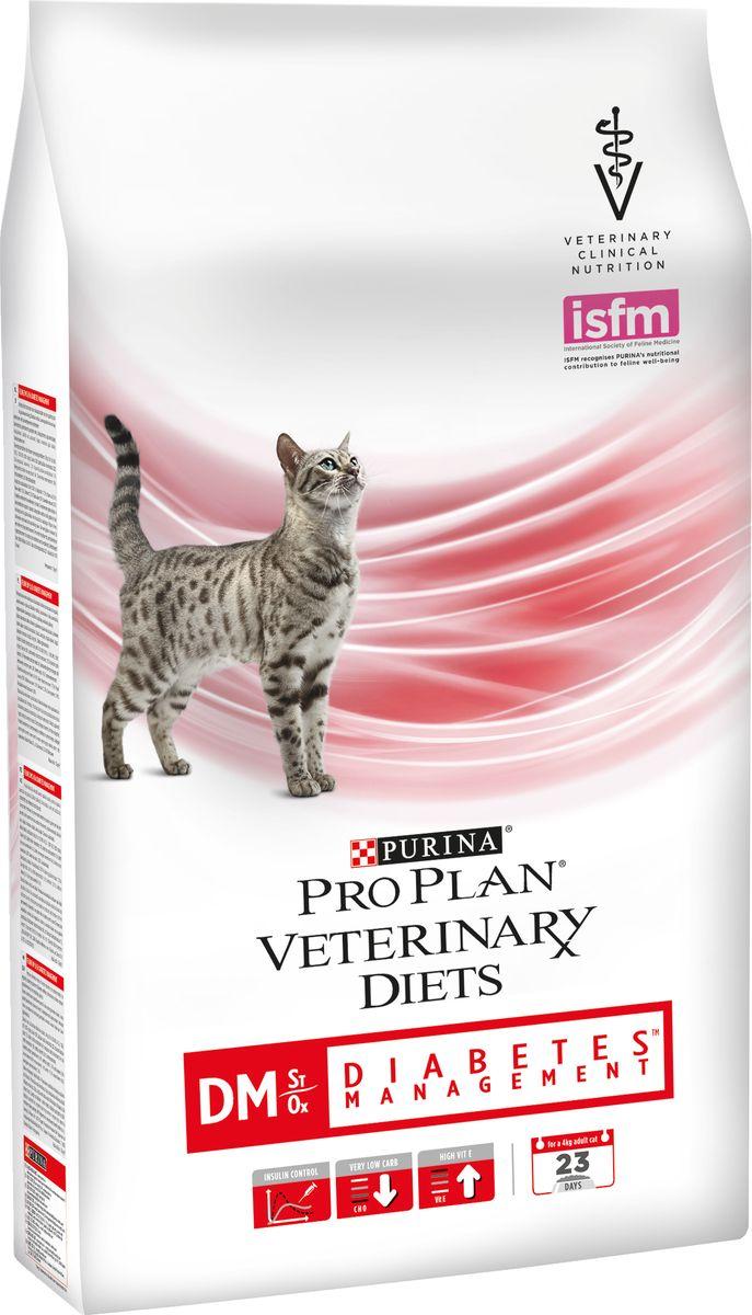 Корм сухой для кошек Pro Plan Veterinary Diets. DM, при диабете, 1,5 кг корм для кошек pro plan veterinary diets dm при диабете с мясом конс пауч 85г