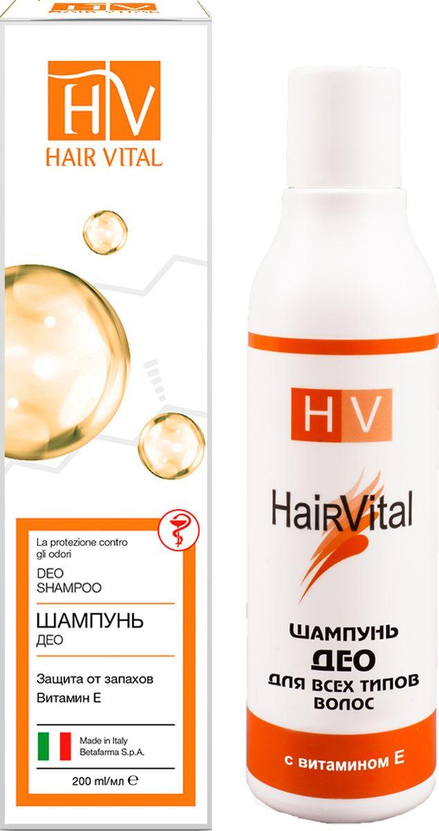 Hair Vital Шампунь для волос Део, 200 мл heliotrop vital q10 104 he794