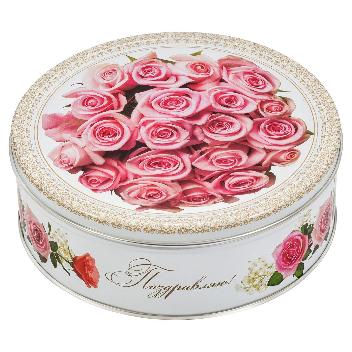 Monte Christo Розовый этюд печенье с кокосовой стружкой, 400 г сладкая сказка новогодний календарь снегурочка 75 г