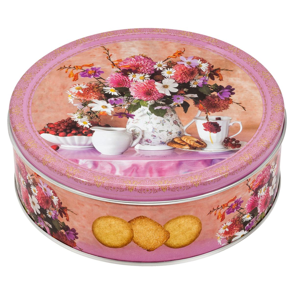 Monte Christo Чайная коллекция печенье с кокосовой стружкой, в ассортименте, 400 г сладкая сказка печенье дед мороз и снегурочка 400 г