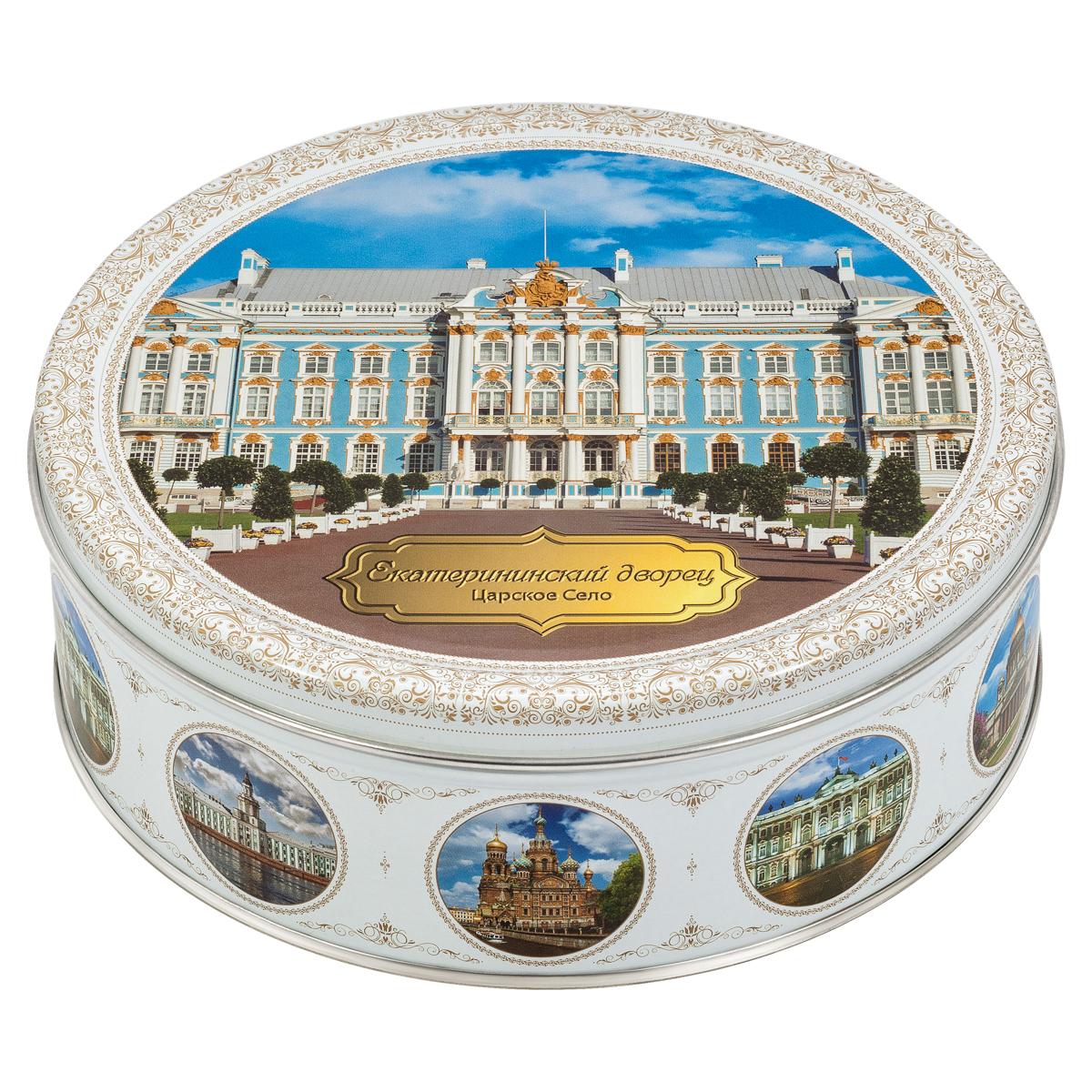 Monte Christo Санкт-Петербург. Екатерининский дворец печенье со сливочным маслом, 400 г сладкая сказка печенье дед мороз и снегурочка 400 г