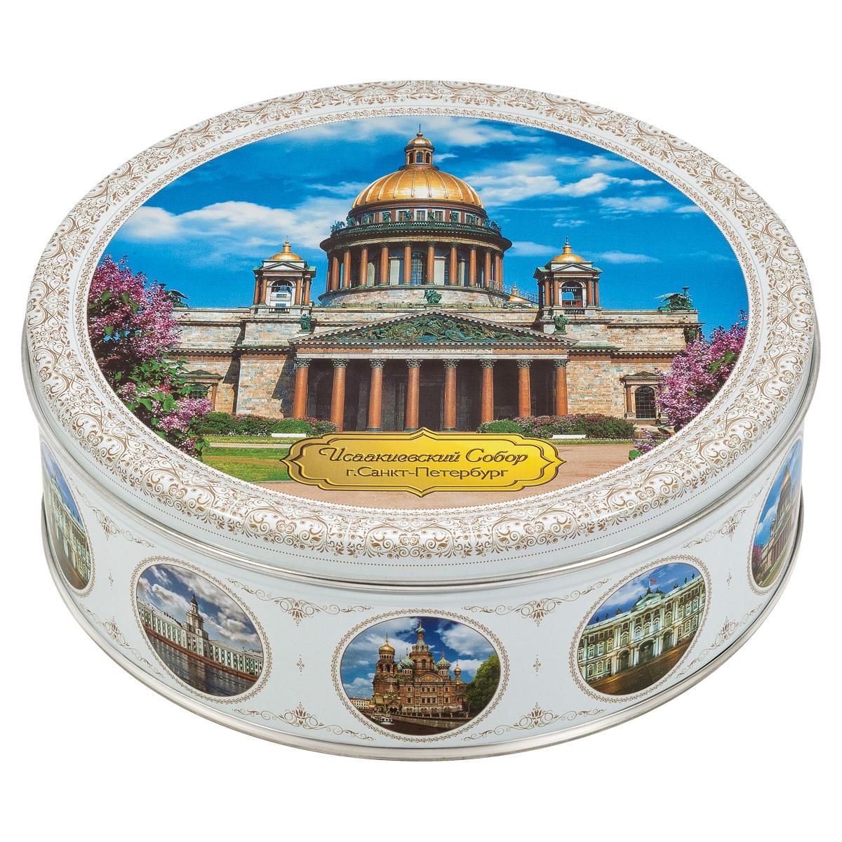Monte Christo Санкт-Петербург. Исаакиевский собор печенье со сливочным маслом, 400 г сладкая сказка печенье дед мороз и снегурочка 400 г