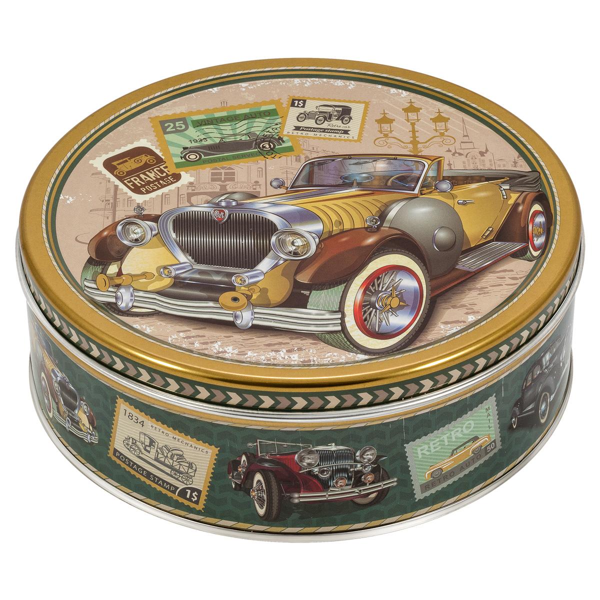 Monte Christo Ретромобиль. Желтый кабриолет печенье со сливочным маслом, 400 г сладкая сказка печенье дед мороз и снегурочка 400 г