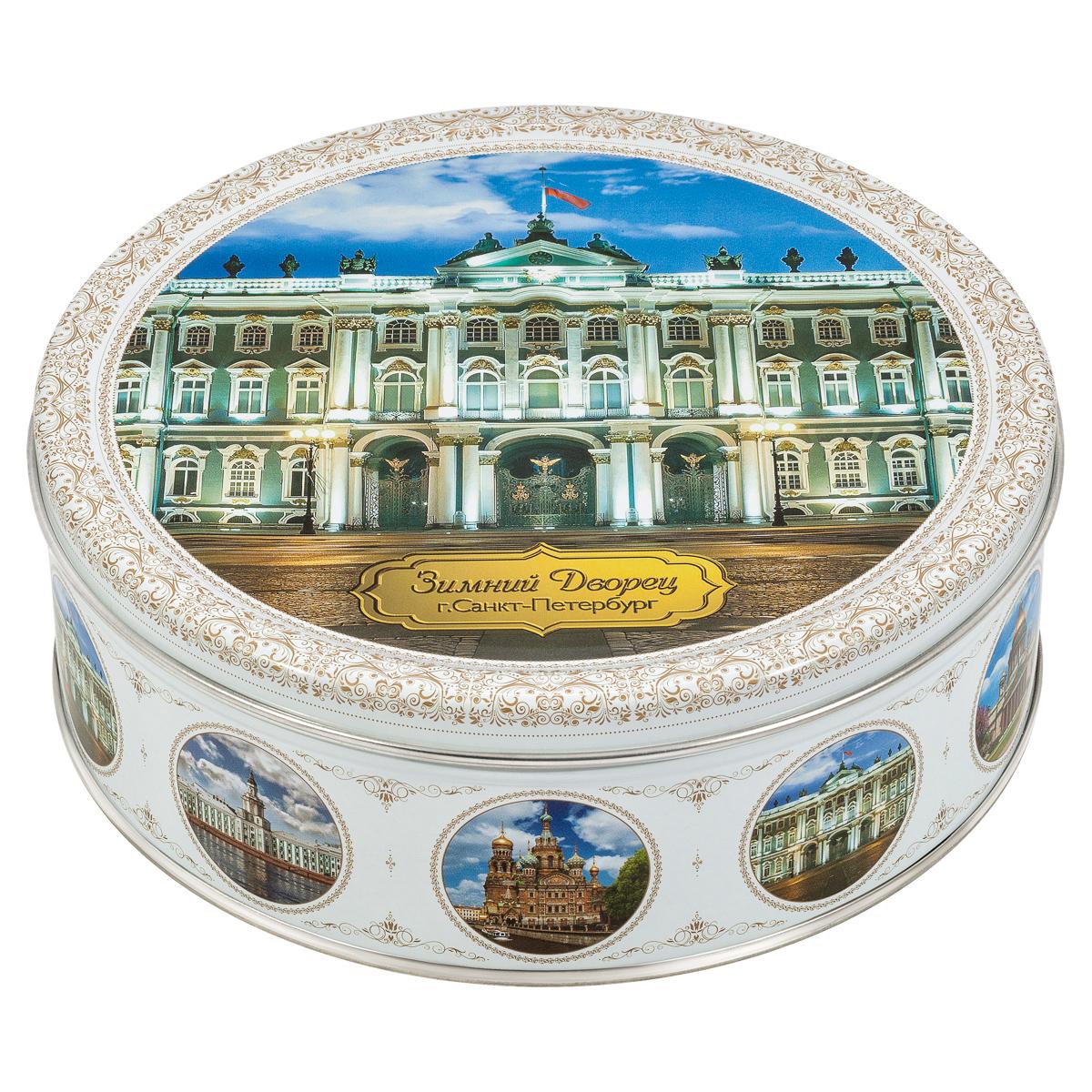 Monte Christo Санкт-Петербург Зимний дворец печенье со сливочным маслом, 400 г сладкая сказка новогодний календарь снегурочка 75 г
