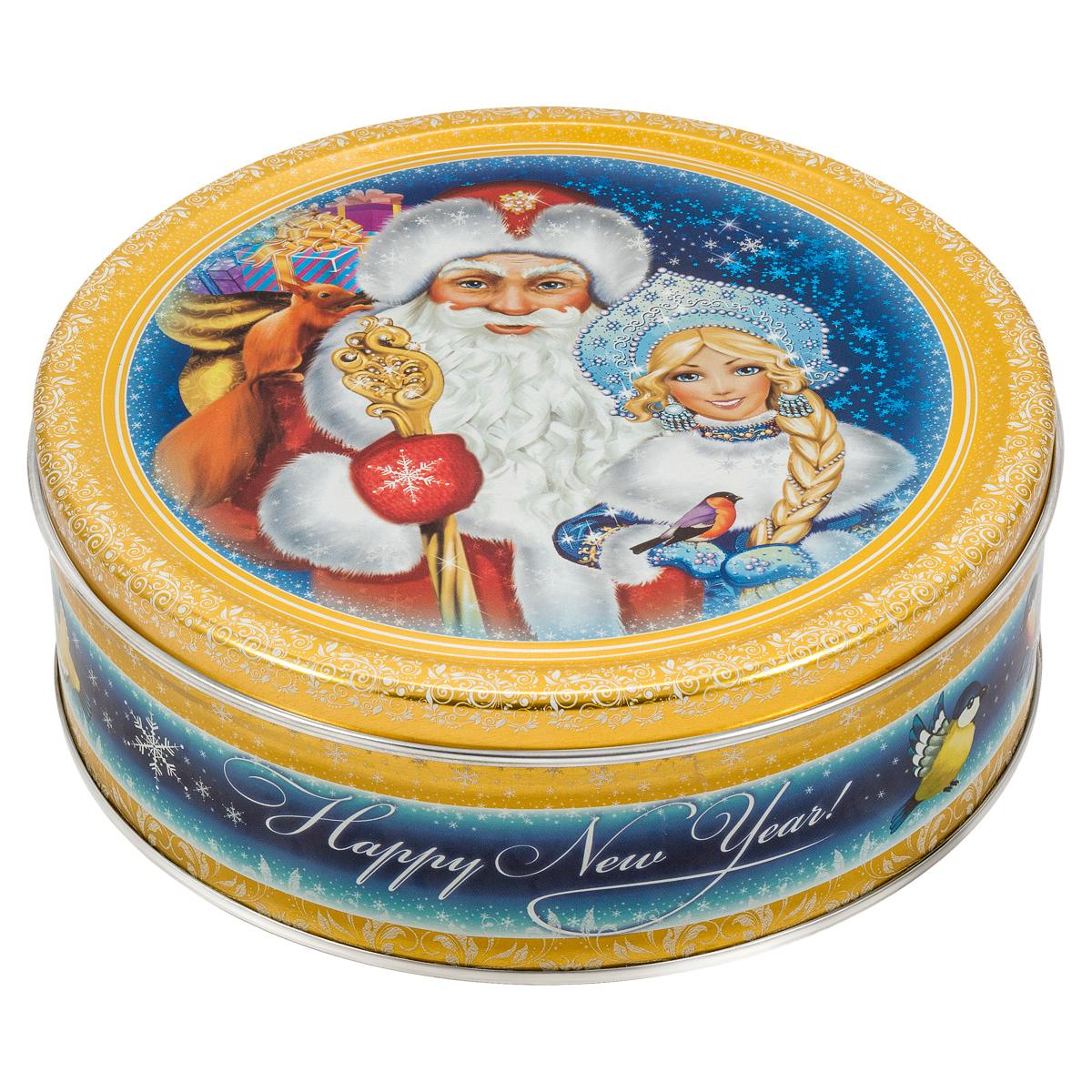 Сладкая Сказка Печенье Дед Мороз и Снегурочка, 400 г сладкая сказка печенье зимний вечер 400 г