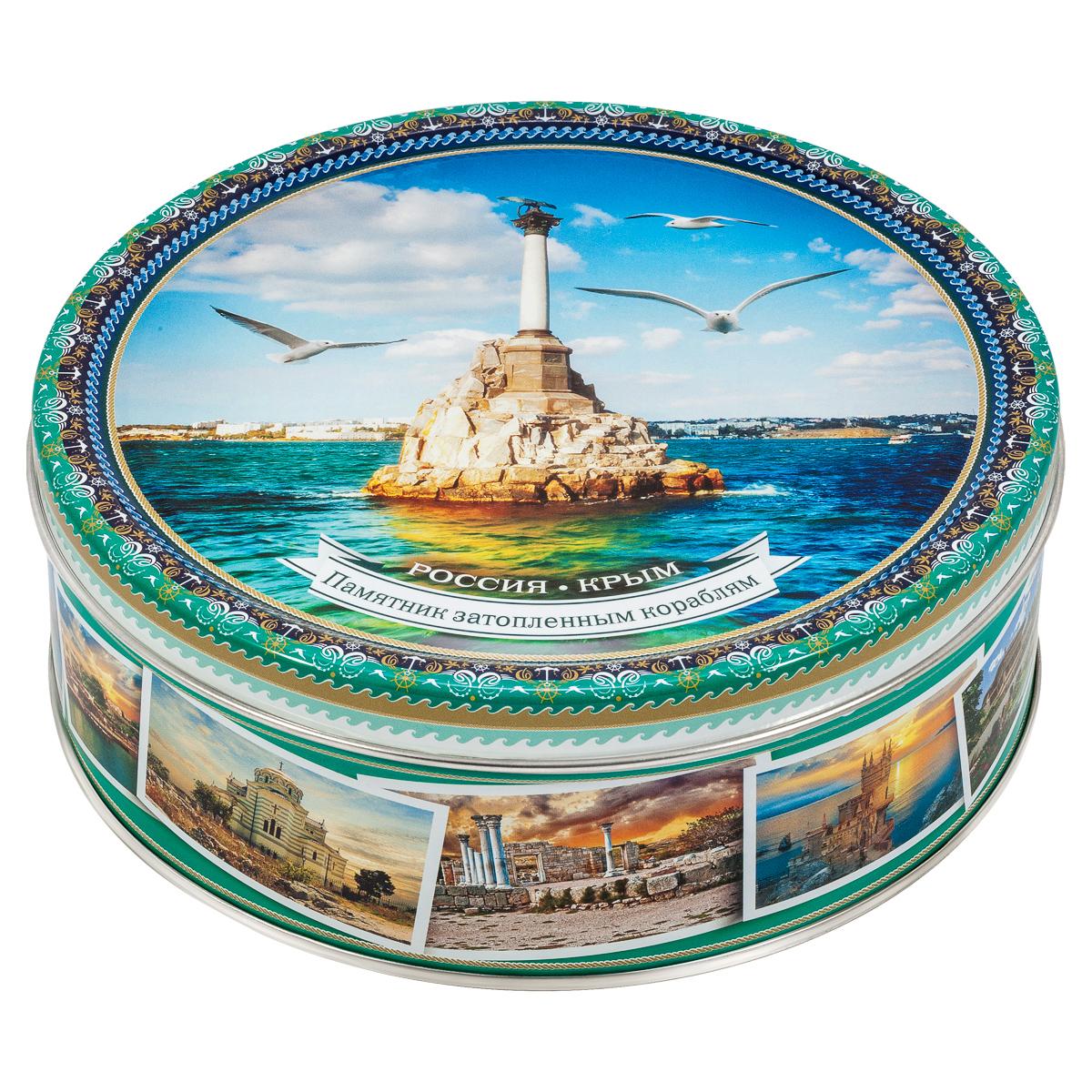 Monte Christo Крым Памятник затопленным кораблям печенье сдобное, 400 г сладкая сказка печенье дед мороз и снегурочка 400 г