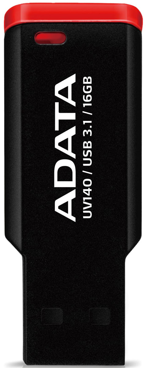 ADATA UV140 16GB, Black Red USB-накопитель