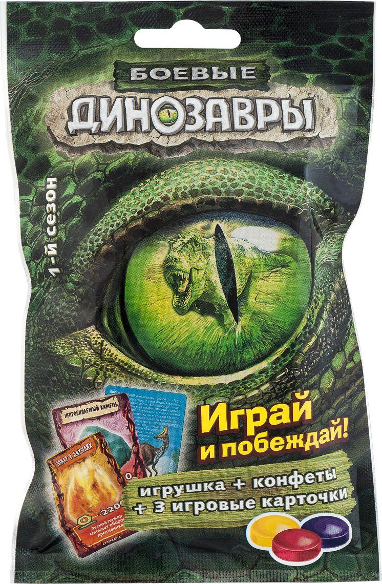 Сладкая Сказка Боевые Динозавры игровой набор с карамелью, 18 гBD-1/BDОригинальная сладость, которая понравится любому ребенку.