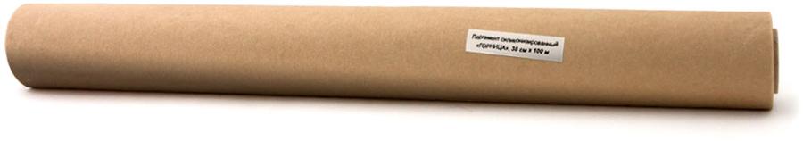 Пергамент для выпекания Горница, силиконизированный, цвет: коричневый, 38 см х 100 м209-055- Данный вид пергамента используется многократно, в зависимости от производителя:отечественный используется фактически до 5 раз. - не требует смазывания жиром или маргарином и существенно экономит усилия по поддержаниючистоты рабочих поверхностей - противней и форм для выпечки;- за счет силиконизации имеет прекрасные разделительные свойства - продукты не пригорают ипрекрасно отходят от рабочих поверхностей;- характеризуется высокой степенью жиро- и влагостойкости. Это дает возможностьзамораживать полуфабрикаты, заготовки и производить выпекание прямо в этой же бумаге; - Помогает изготавливать продукты, не содержащие канцерогенов, способствует сохранениювкусовых и полезных свойств хлебобулочных и кондитерских изделий; - все сырье и добавки, используемые при изготовлении пергамента - отвечают предъявляемымтребованиям к материалам, конечный продукт изготавливается с соблюдением всех необходимыхнорм в части контроля качества и экологичности.