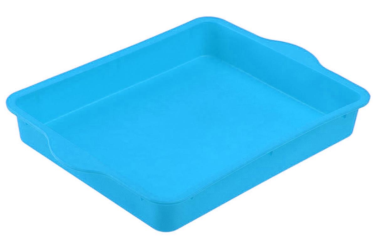 Форма для выпечки Доляна Прямоугольная, цвет: голубой, 30 х 22 см811952_голубой1Форма для выпечки из силикона - современное решение для практичных и радушных хозяек. Оригинальный предмет позволяет готовить в духовке любимые блюда из мяса, рыбы, птицы и овощей, а также вкуснейшую выпечку. Преимущества формы для выпечки:- блюдо сохраняет нужную форму и легко отделяется от стенок после приготовления;- высокая термостойкость (от -40 до 230°C) позволяет применять форму в духовых шкафах и морозильных камерах;- небольшая масса делает эксплуатацию предмета простой даже для хрупкой женщины;- силикон пригоден для посудомоечных машин;- высокопрочный материал делает форму долговечным инструментом;- при хранении предмет занимает мало места.