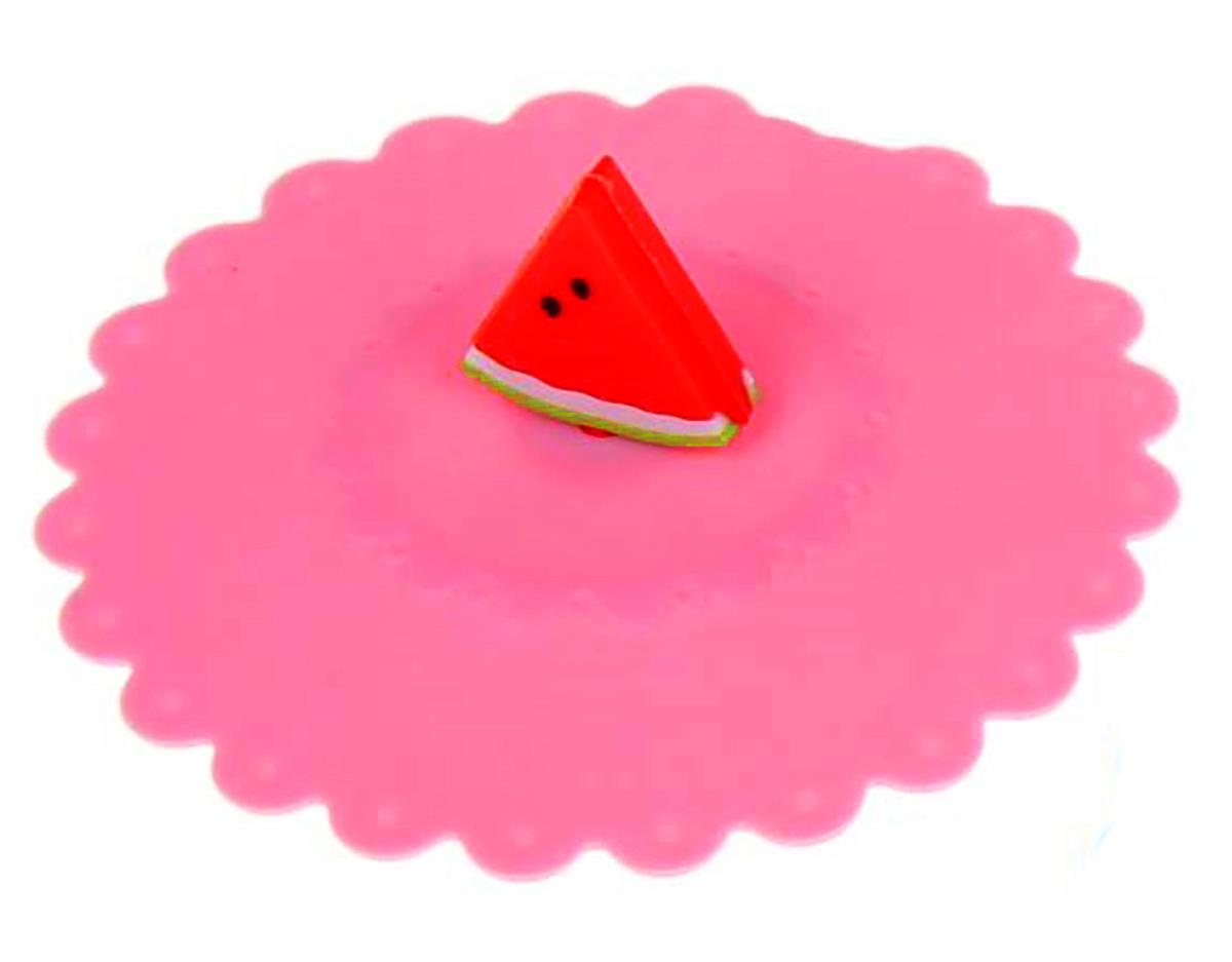 Крышка Доляна Арбуз, цвет: розовый, 11 см1210611_розовый_розовыйКрышка станет незаменимым помощником любой современной хозяйки! Она выполнена из безопасного пищевого силикона, устойчивого к температурам от -40 до +250 градусов. Изделие не впитывает посторонние запахи, удобно в транспортировке и хранении. Яркие света и необычная форма ручки привлекут внимание любого посетителя вашей кухни, а вам поможет не потерять крышку среди остальной посуды.