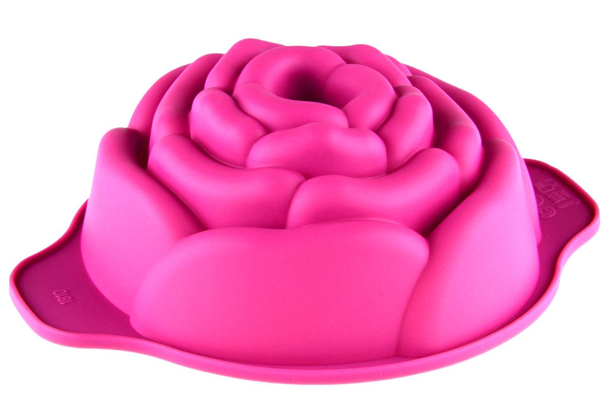 Форма для выпечки Доляна Роза, цвет: светло-розовый, 15,5 х 12,5 х 5 см1166842_светло-розовыйФорма для выпечки из силикона - современное решение для практичных и радушных хозяек. Оригинальный предмет позволяет готовить в духовке любимые блюда из мяса, рыбы, птицы и овощей, а также вкуснейшую выпечку. Почему это изделие должно быть на кухне? блюдо сохраняет нужную форму и легко отделяется от стенок после приготовления; высокая термостойкость (от -40 до +230 градусов) позволяет применять форму в духовых шкафах и морозильных камерах; небольшая масса делает эксплуатацию предмета простой даже для хрупкой женщины; силикон пригоден для посудомоечных машин; высокопрочный материал делает форму долговечным инструментом; при хранении предмет занимает мало места. Советы по использованию формы: Перед первым применением промойте предмет тёплой водой. В процессе приготовления используйте кухонный инструмент из дерева, пластика или силикона. Перед извлечением блюда из силиконовой формы дайте ему немного остыть, осторожно отогните края предмета. Готовьте с удовольствием!