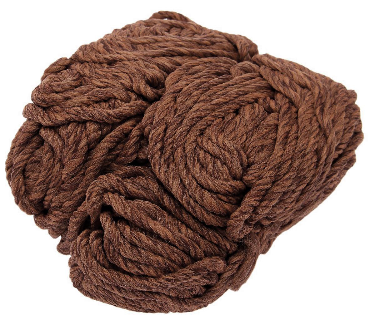 Шпагат крученый, цвет: коричневый, длина 50 м1827839_коричневыйКрученый шпагат широко используется в быту, сельском хозяйстве и народных промыслах. Этот материал подходит для упаковки грузов, изготовления плетеной мебели, декорирования изделий и аксессуаров. Шпагат изготовлен из пропилена, безвредного для человека и окружающей среды.