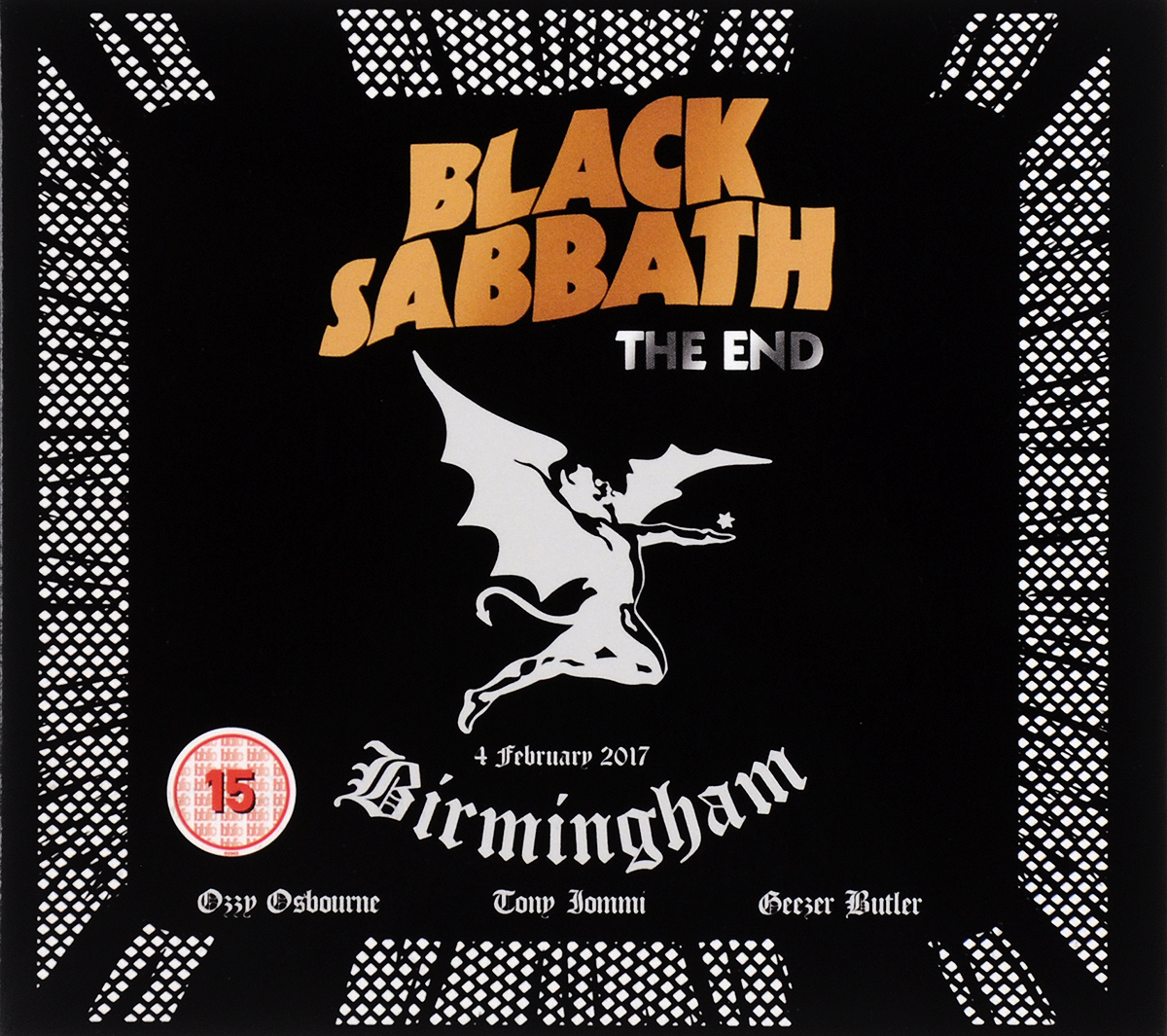 Black Sabbath. The End (Blu-ray +CD) francis rossi live from st luke s london blu ray