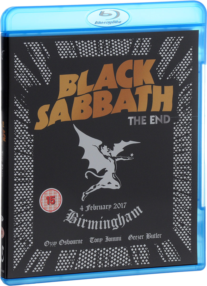 Black Sabbath: The End (Blu-ray) rush beyond the lighted stage blu ray