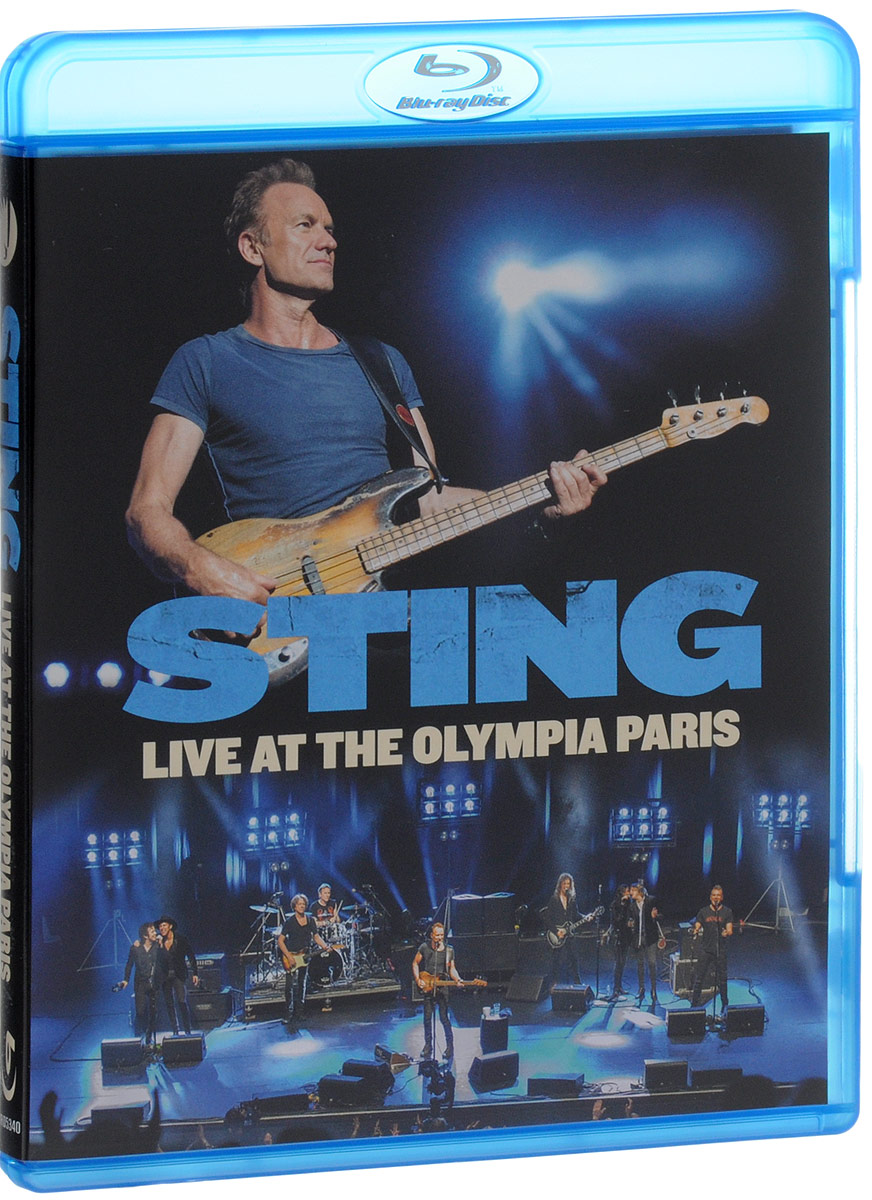 Sting: Live At The Olympia Paris (Blu-ray) 30pcs in one postcard take a walk on the go paris france christmas postcards greeting birthday message cards 10 2x14 2cm