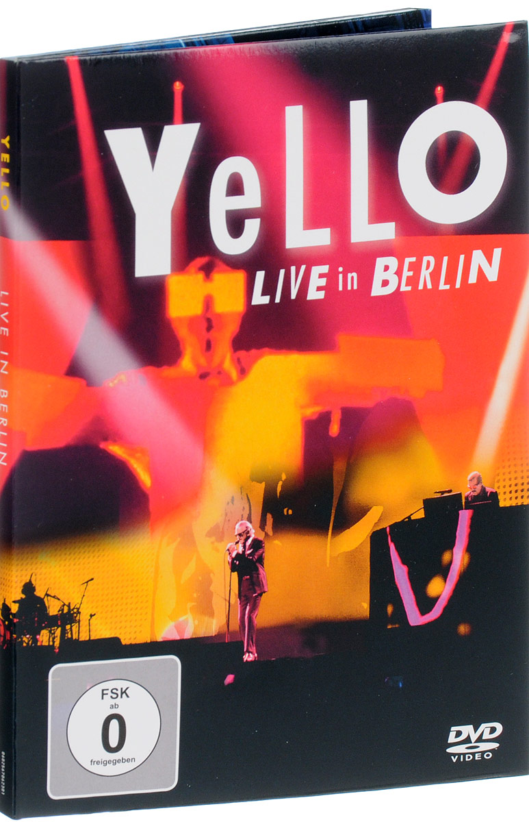 Yello: Live In Berlin проектор viewsonic pro7827hd белый [vs16232]
