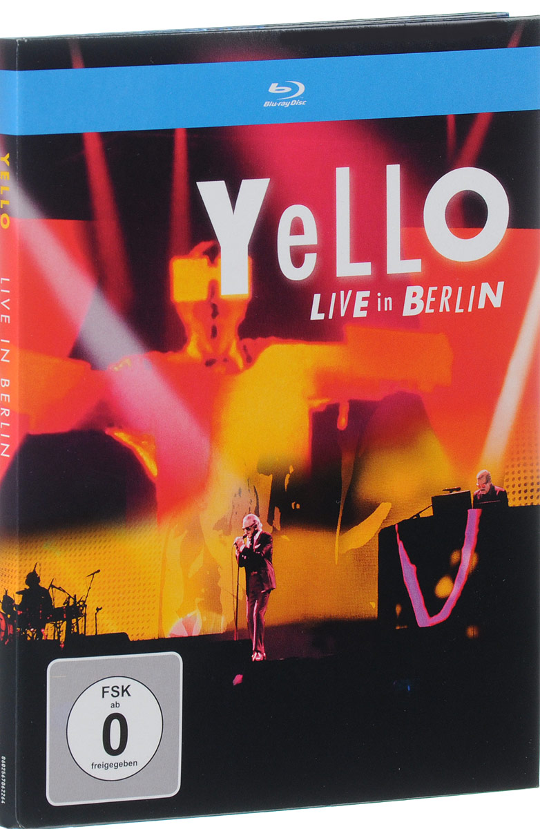 цена Yello: Live In Berlin (Blu-ray)