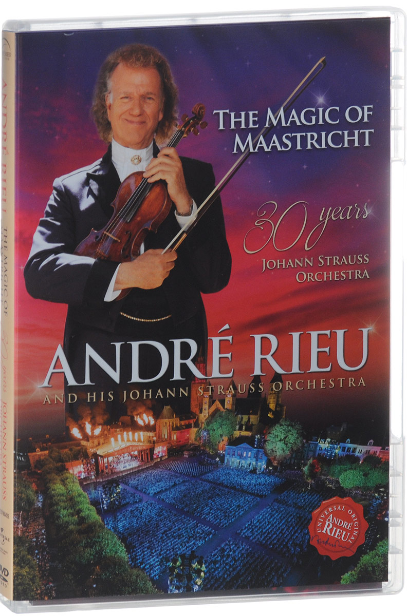Andre Rieu: The Magic Of Maastricht andre rieu magic of the violin