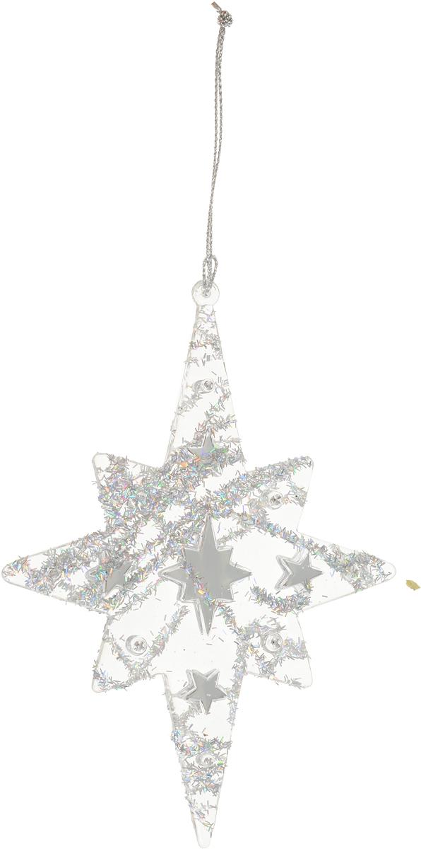 Украшение для интерьера новогоднее Erich Krause Звездопад, 15 см16000Украшение в виде падающей звезды не является современным. Между тем цена определенно соответствует изделию. Новогодние украшения всегда несут в себе волшебство и красоту праздника. Создайте в своем доме атмосферу тепла, веселья и радости, украшая его всей семьей.