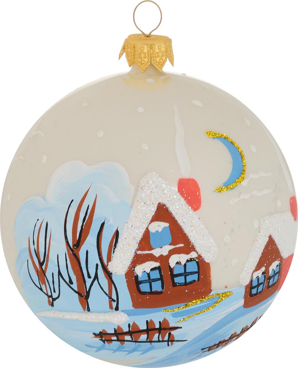 Украшение новогоднее елочное Иней Околица, цвет: белый, диаметр 10 см1519290_белыйНевозможно представить нашу жизнь без праздников! Мы всегда ждем их и предвкушаем, обдумываем, как проведем памятный день, тщательно выбираем подарки и аксессуары, ведь именно они создают и поддерживают торжественный настрой.
