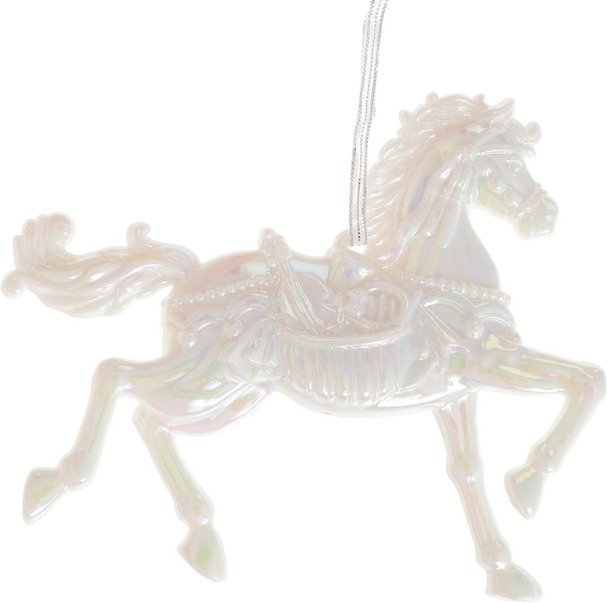 Украшение для интерьера новогоднее Erich Krause Конь белогривый, 10 см36076Грациозный конь выполнен в перламутровом цвете и декорирован блестками. Фигурки животных всегда пользуются большой популярностью, и спрос на них является стабильно высоким. Новогодние украшения всегда несут в себе волшебство и красоту праздника. Создайте в своем доме атмосферу тепла, веселья и радости, украшая его всей семьей.Уважаемые клиенты! Обращаем ваше внимание на возможные изменения в дизайне украшения. Поставка осуществляется в зависимости от наличия на складе.
