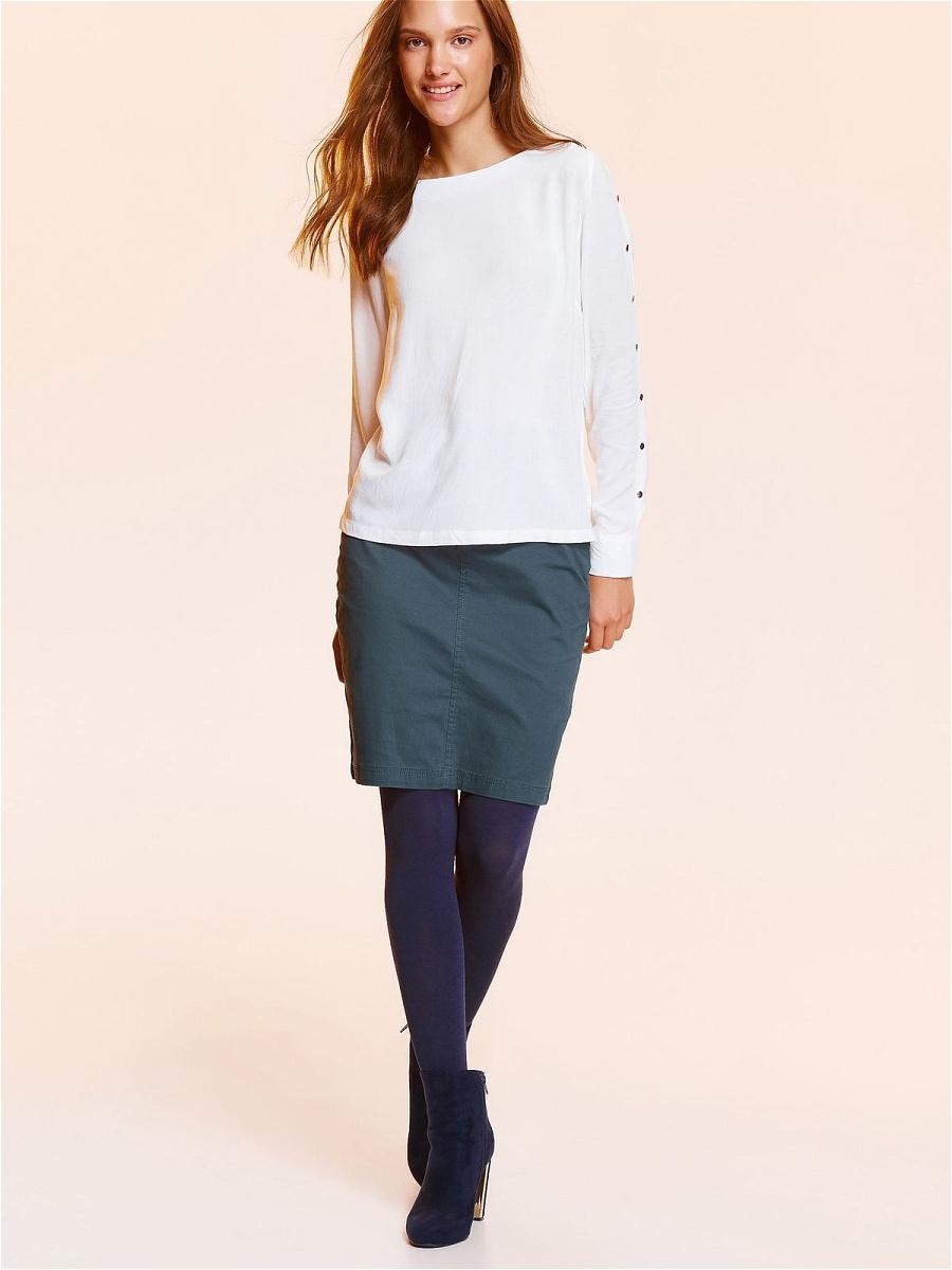 Блузка женская Top Secret, цвет: белый. SBD0724BI. Размер 34 (42) блузки linse блузка