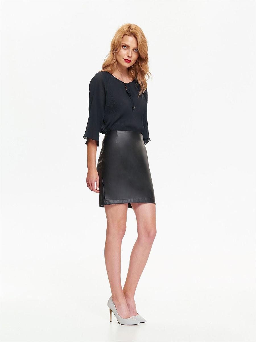 Блузка женская Top Secret, цвет: темно-синий. SBD0738GR. Размер 42 (50)