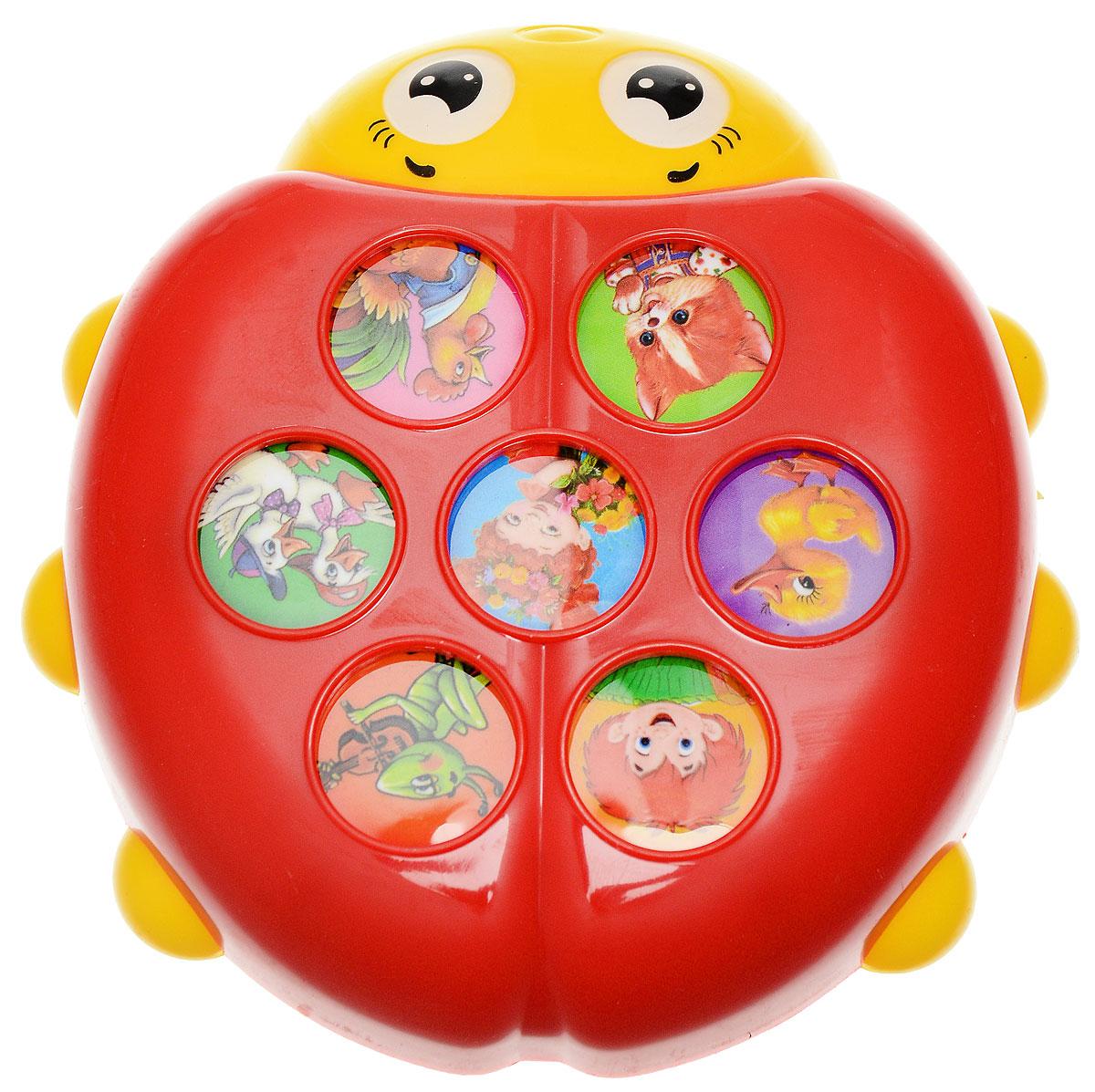 Азбукварик Электронная игрушка Плеер Божья коровка
