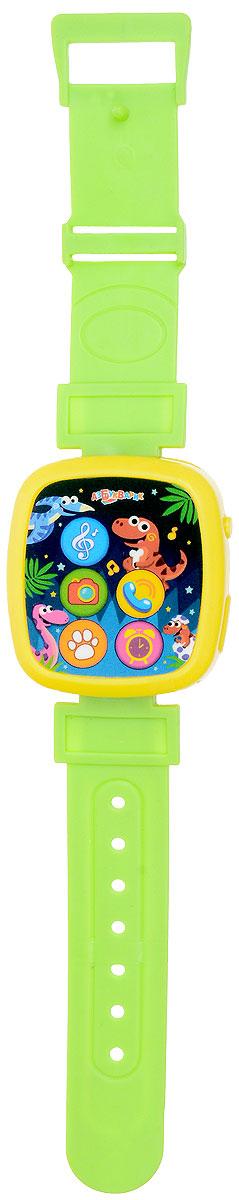 Азбукварик Электронная игрушка Часики Мой динозаврик электронные игрушки азбукварик музыкальные часики