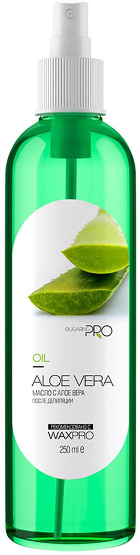 Sugaring Pro Масло после депиляции Алоэ Вера, 250 млУТ000013790Масло обладает выраженным ранозаживляющим и антибактериальным эффектом, быстро восстановит обработанные участки, уменьшая отечность, воспаление и зуд. Идеальное средство для людей с чувствительной кожей