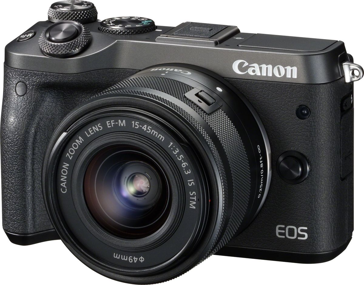 Zakazat.ru Canon EOS M6 Kit 15-45 IS STM, Black цифровая фотокамера