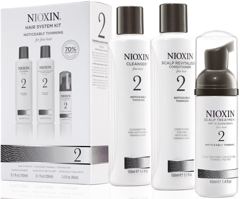 Nioxin System 2 Kit XXL - Набор (Система 2) 300 мл+300 мл+100 мл81543676/7879В набор Nioxin System 2 Kit входят: Шампунь Очищение 300 мл - придающий объём очиститель Кондиционер Увлажнение 300 мл - придающий объём кондиционер Маска Питание 100 мл - придающая объём и питающая волосы маска