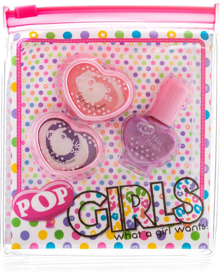Markwins Игровой набор детской декоративной косметики для губ и ногтей POP 3605051