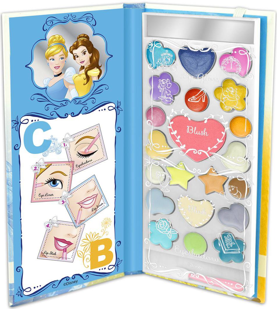 Markwins Игровой набор детской декоративной косметики Princess CB в книжке