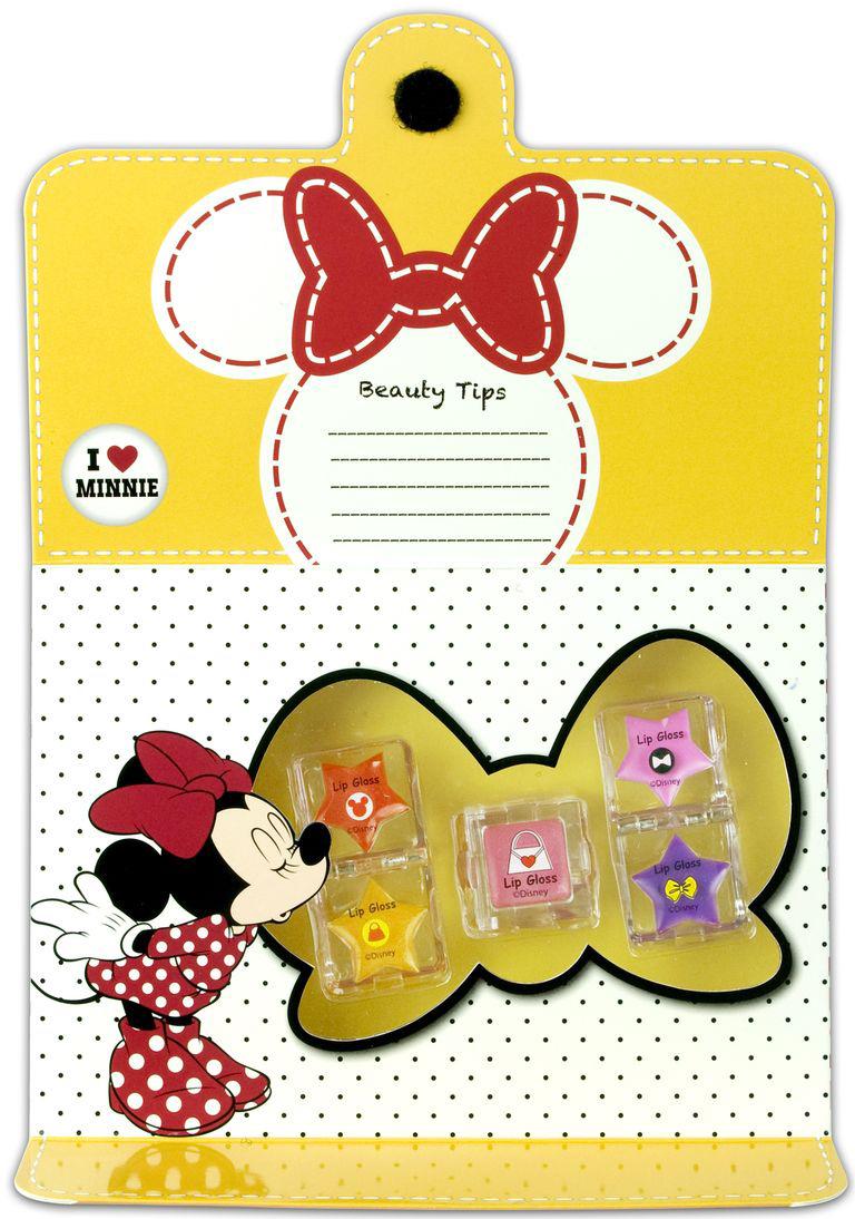 Markwins Игровой набор детской декоративной косметики для губ Minnie