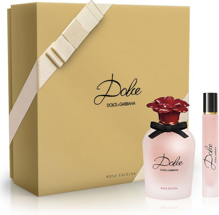 Dolce&Gabbana Парфюмерный набор Dolce Rosa: парфюмерная вода 30 мл, парфюмерная вода-ролик 7,4 мл dolce & gabbana dolce rosa парфюмерная вода 75 мл