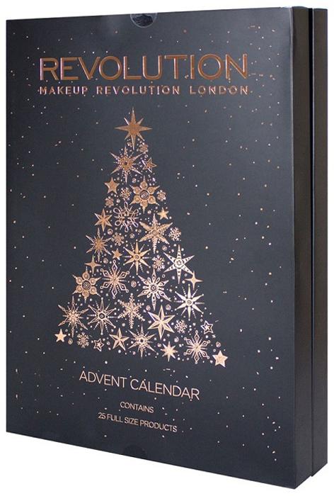Makeup Revolution Набор для макияжа Advent Calendar 2017 хайлайтеры makeup revolution хайлайтер radiant lights breathe