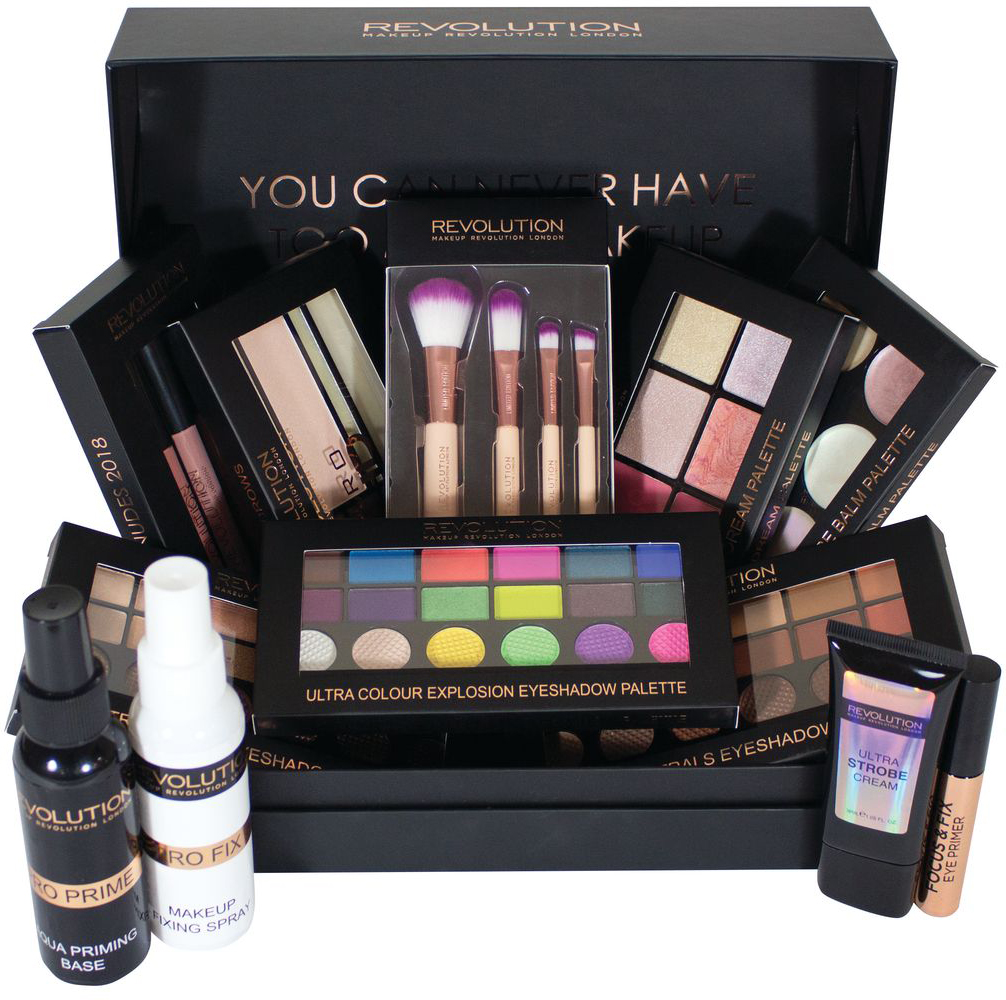 Makeup Revolution Набор для макияжа 12 Days of Christmas 2017 bourjois палетка теней palette тон 01
