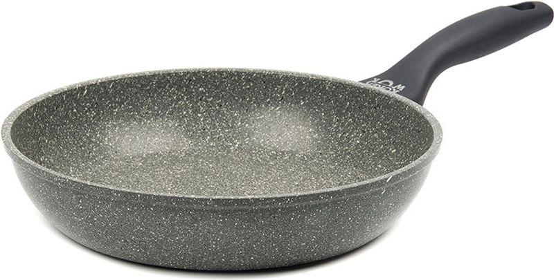 Сковорода Korea Wok, с антипригарным покрытием, цвет: серый. Диаметр 24 см. KWF2421MS сковорода axentia cucina 4000 с антипригарным покрытием диаметр 24 см