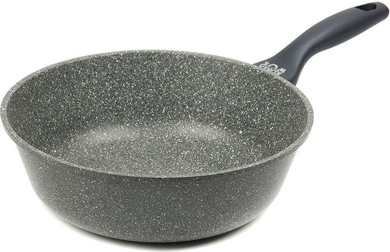 Сотейник Korea Wok, с антипригарным покрытием. Диаметр 28 см сковорода korea wok с антипригарным покрытием цвет черный диаметр 24 см kwf2422mr
