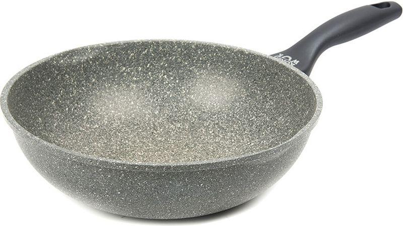 Вок Korea Wok, с антипригарным покрытием. Диаметр 30 см сковорода korea wok с антипригарным покрытием цвет черный диаметр 24 см kwf2422mr
