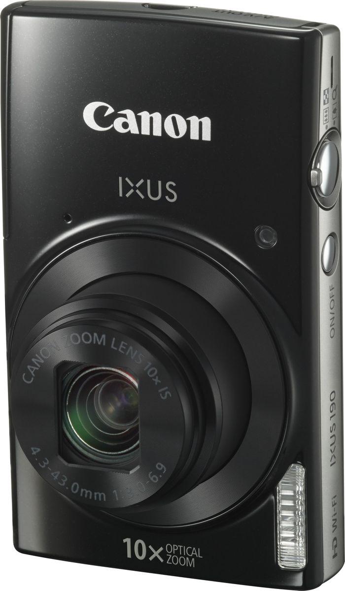 Canon IXUS 190, Black компактная фотокамера - Цифровые фотоаппараты