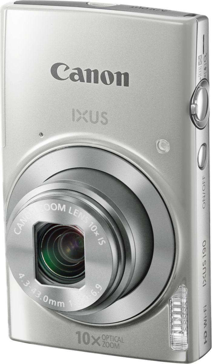 Canon IXUS 190, Silver компактная фотокамера - Цифровые фотоаппараты