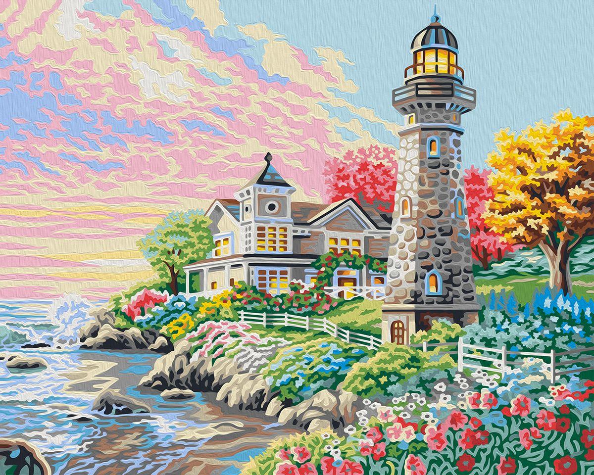 "Набор для рисования по номерам Мосфа ""Утром на побережье"", 40 х 50 см"